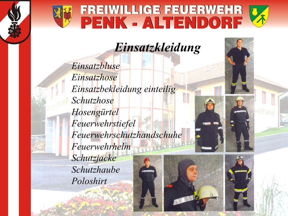 Einsatzkleidung Einsatzbluse Einsatzhose Einsatzbekleidung einteilig Schutzhose Hosengürtel Feuerwehrstiefel Feuerwehrschutzhandschuhe Feuerwehrhelm S