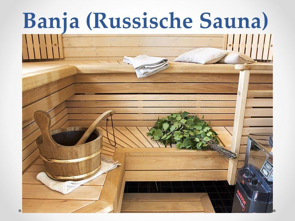 Banja (Russische Sauna)