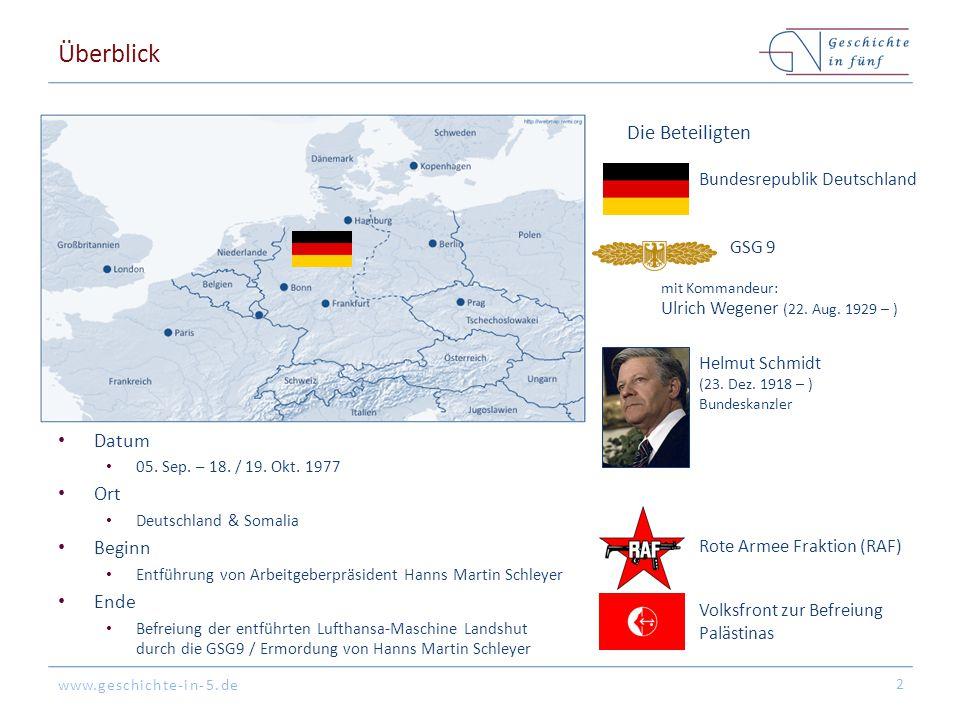 www.geschichte-in-5.de Überblick Datum 05.Sep. – 18.