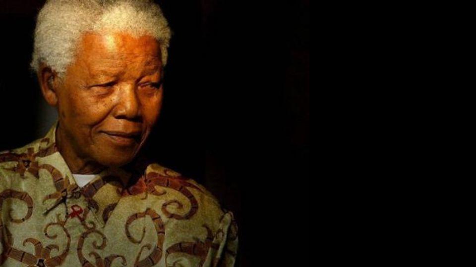 Nelson Rolihlahla Mandela 18.Juli 1918 in Mvezo, Transkei; † 5.