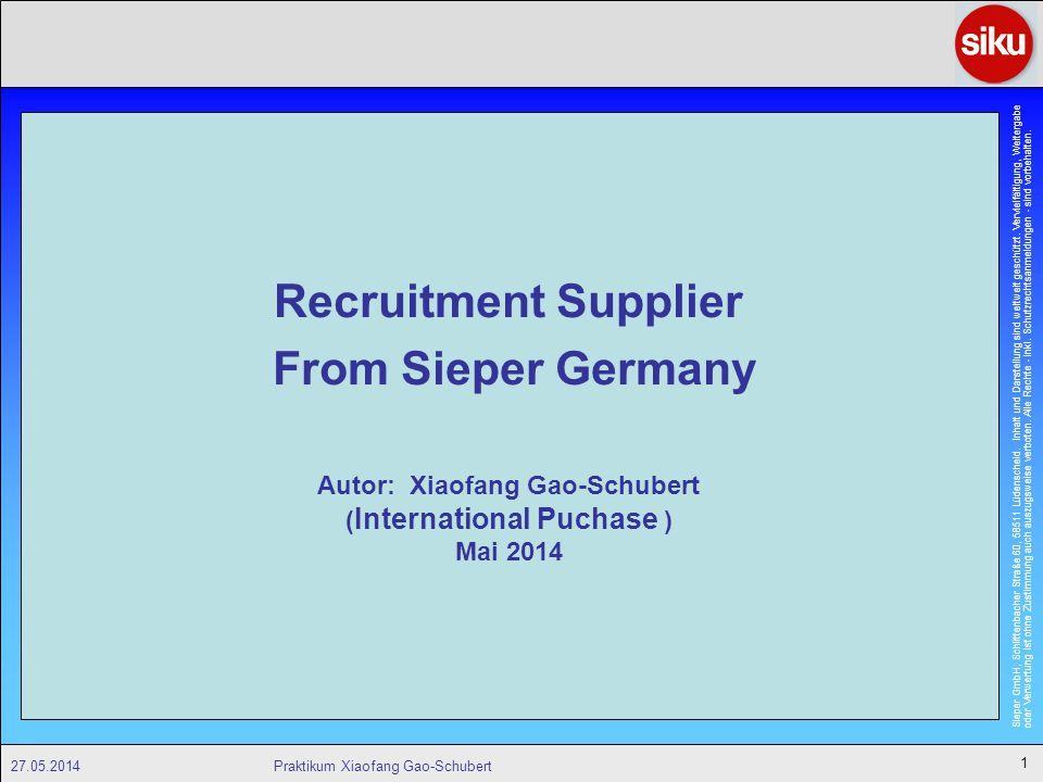 Sieper GmbH, Schlittenbacher Straße 60, 58511 Lüdenscheid.