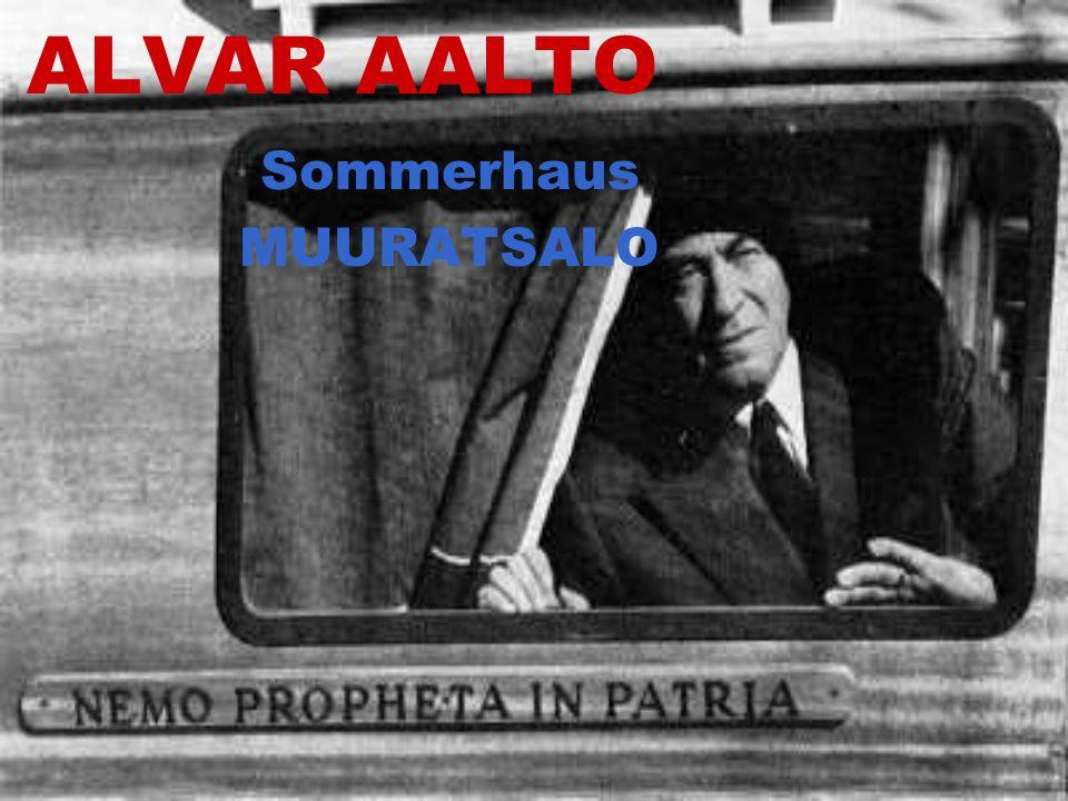 ALVAR AALTO Sommerhaus MUURATSALO