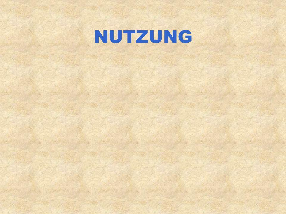 NUTZUNG