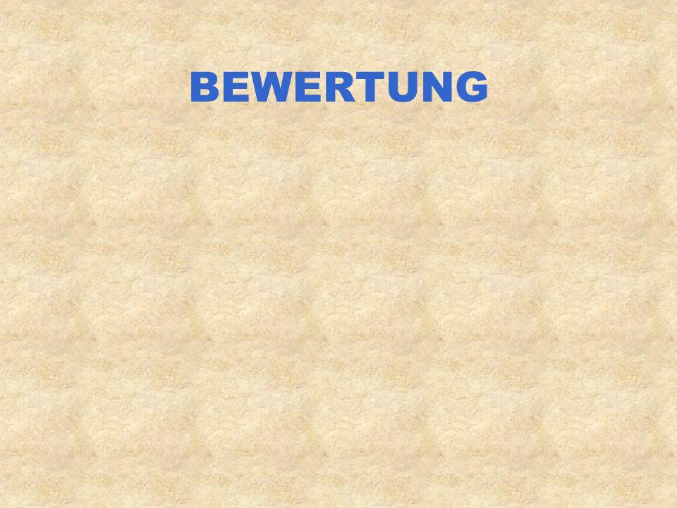 BEWERTUNG