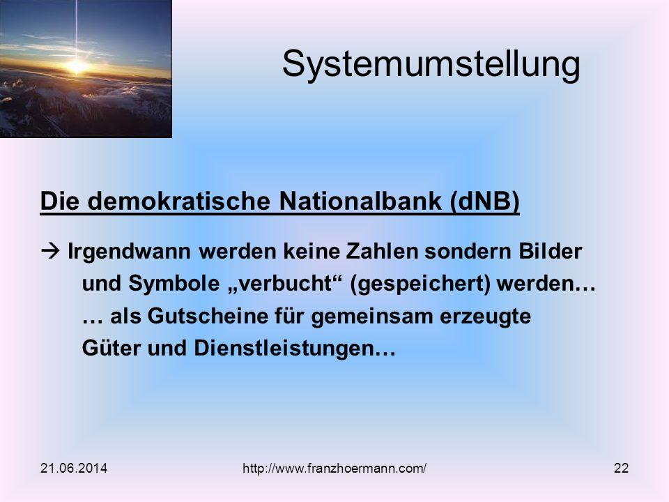 """Die demokratische Nationalbank (dNB)  Irgendwann werden keine Zahlen sondern Bilder und Symbole """"verbucht"""" (gespeichert) werden… … als Gutscheine für"""