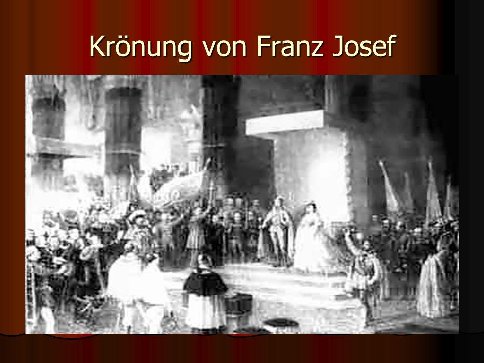 Krönung von Franz Josef