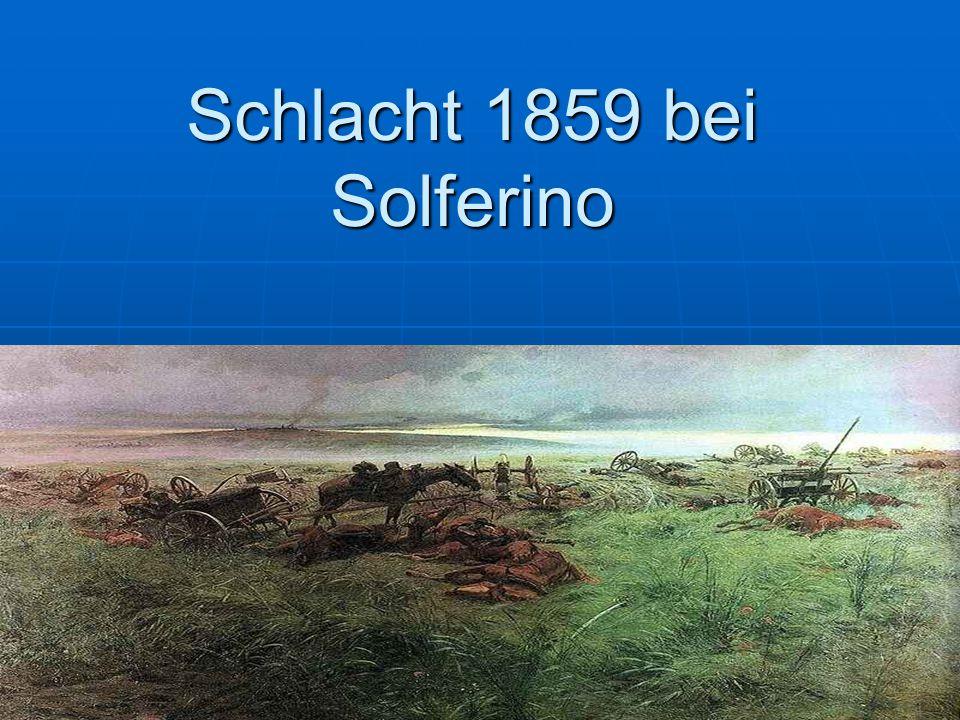 Schlacht 1859 bei Solferino