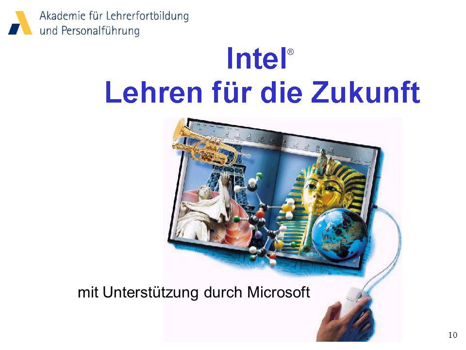 10 mit Unterstützung durch Microsoft