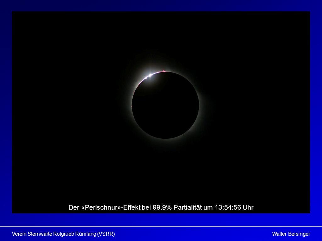 Walter BersingerVerein Sternwarte Rotgrueb Rümlang (VSRR) Der «Perlschnur»-Effekt bei 99.9% Partialität um 13:54:56 Uhr