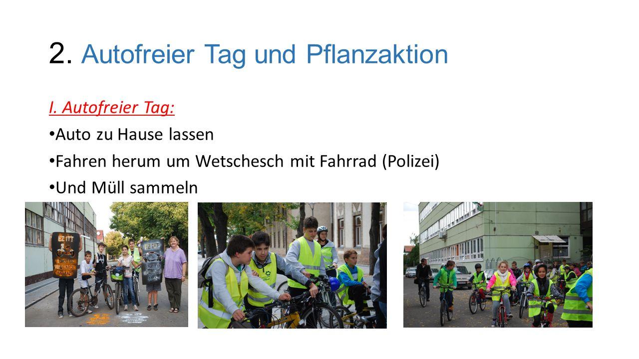 2.Autofreier Tag und Pflanzaktion I.