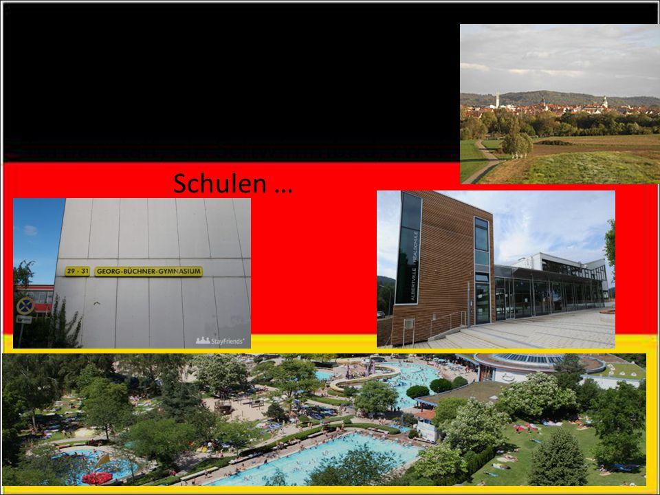 HOBBIES In Winnenden gibt es eine Turnanstalt, ein Schwimmbad, zwei Schulen …