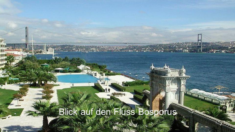 Blick auf den Fluss Bosporus