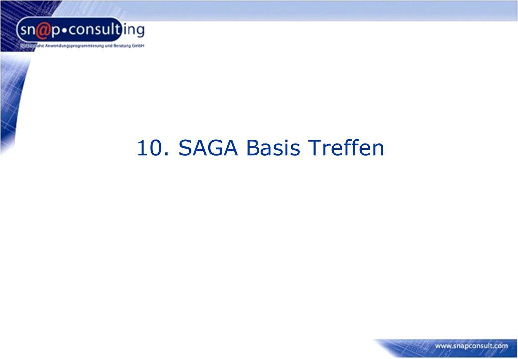 10. SAGA Basis Treffen