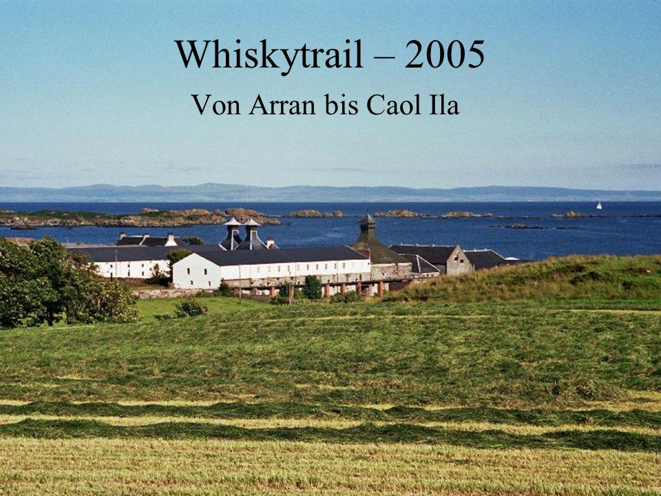 Nach einer Woche Wandern auf den Orkney Inseln mit Martin Forsyth beginnt mein Whiskytrail mit der Fahrt von Edingburg auf die Insel Arran.