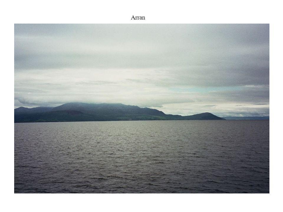 ein fantastischer erster Tag auf Islay geht zu Ende....