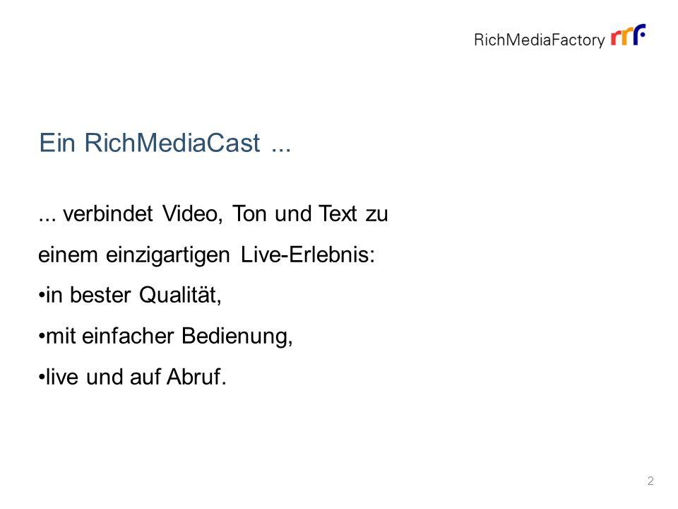 About Ein RichMediaCast......