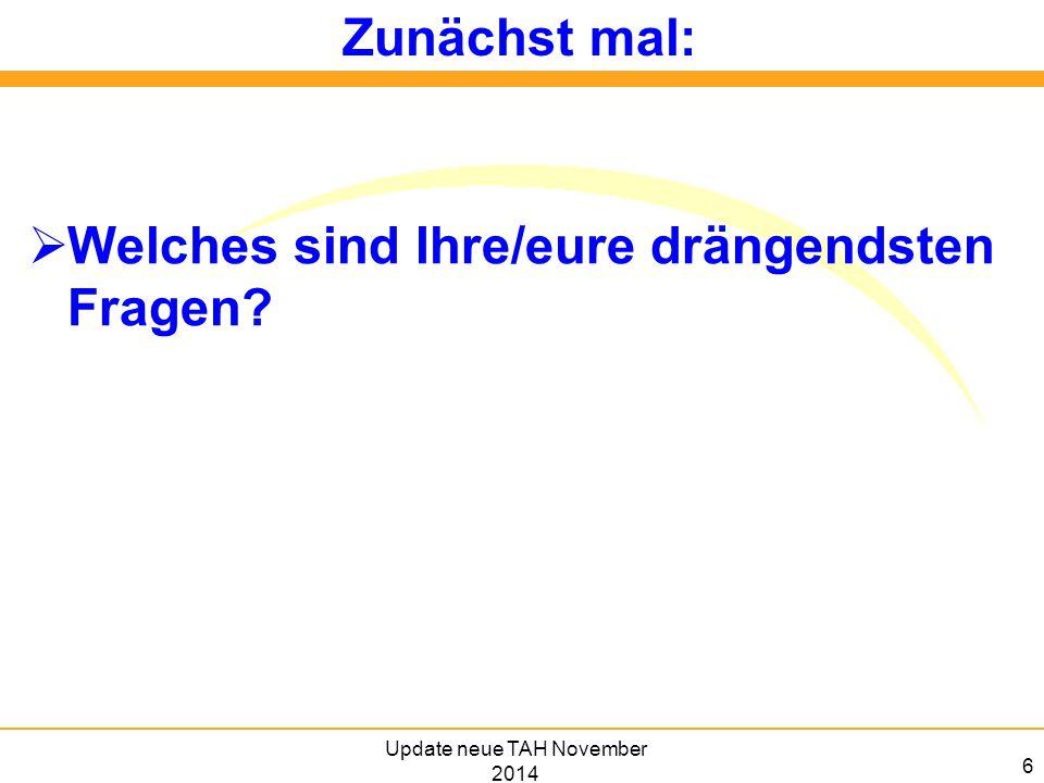 Update neue TAH 8.6.2012 17