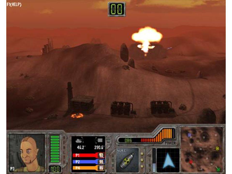 Projektstart Aufgabe: Arkadeklassiker neu auflegen Coregameplay beibehalten Inspiration Tanks Worms Scorch3D