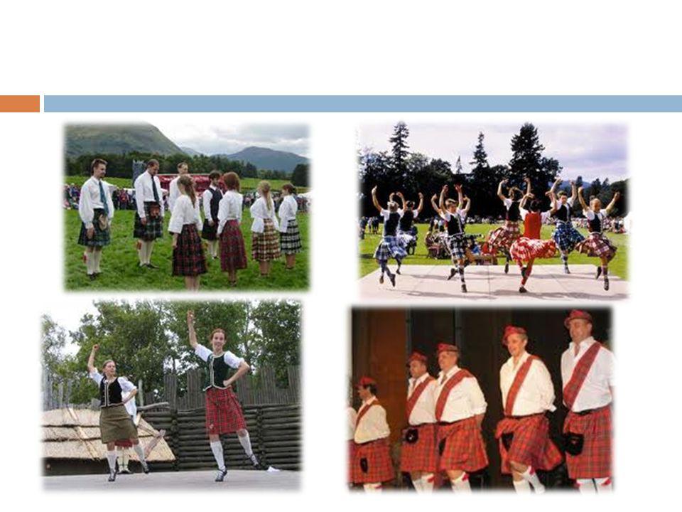 Tanz Hochländern Dieser Tanz ist für die Mannern.Es war ein Tanz nach der Schlacht.