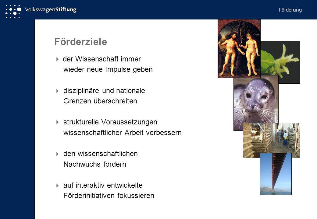 Programmbereich Personen und Strukturen  Lichtenberg-Professuren  Schumpeter Fellowships in den Wirtschafts-, Sozial- u.