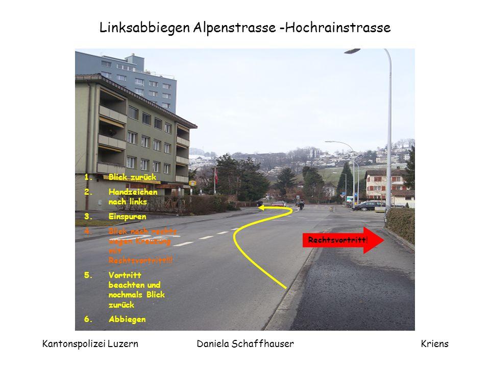 Kantonspolizei LuzernDaniela SchaffhauserKriens
