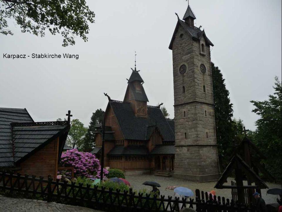 Breslau im Regen - Rathaus