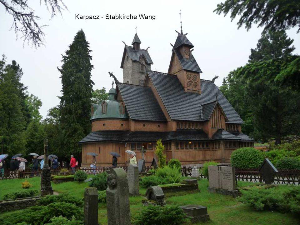 Karpacz – Stabkirche Wang