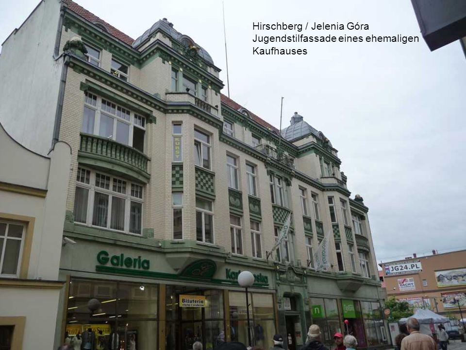 Hirschberg / Jelenia Góra - Laubengänge