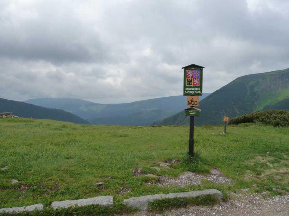 Schlesierhaus auf rund 1400 m