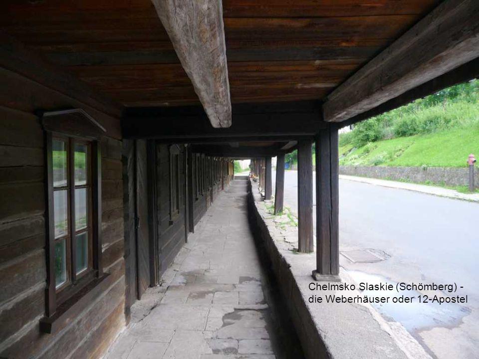 Chelmsko Slaskie (Schömberg) - die Weberhäuser oder 12-Apostel