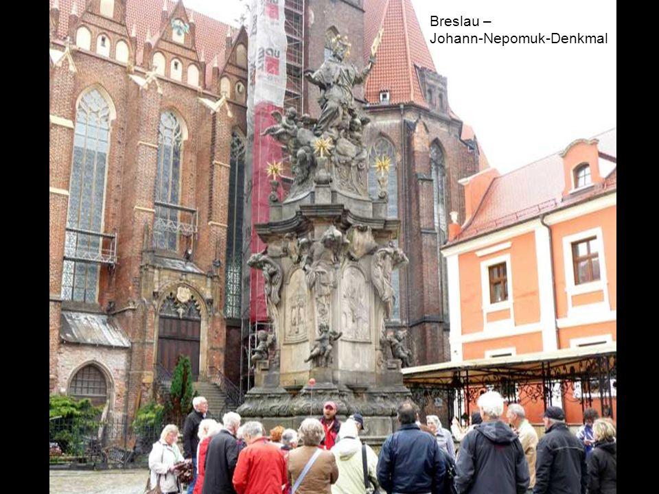 Breslau – Johann-Nepomuk-Denkmal