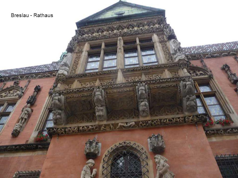 Hirschberg / Jelenia Góra Jugendstilfassade eines ehemaligen Kaufhauses