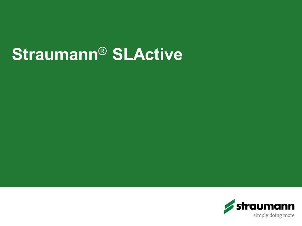Straumann ® SLActive