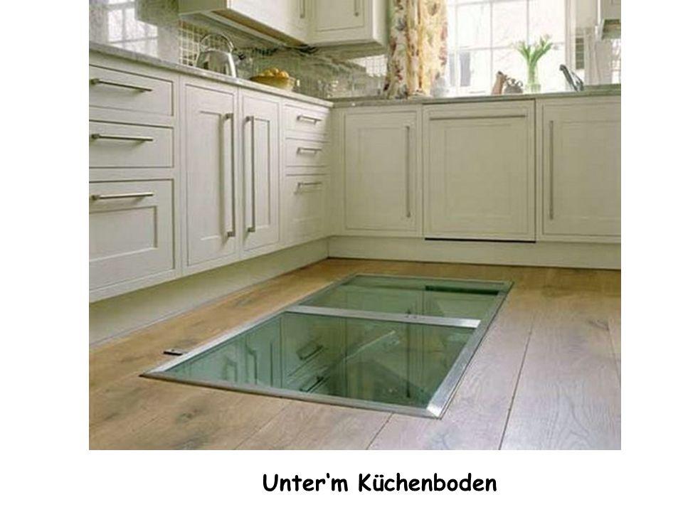 Unter'm Küchenboden