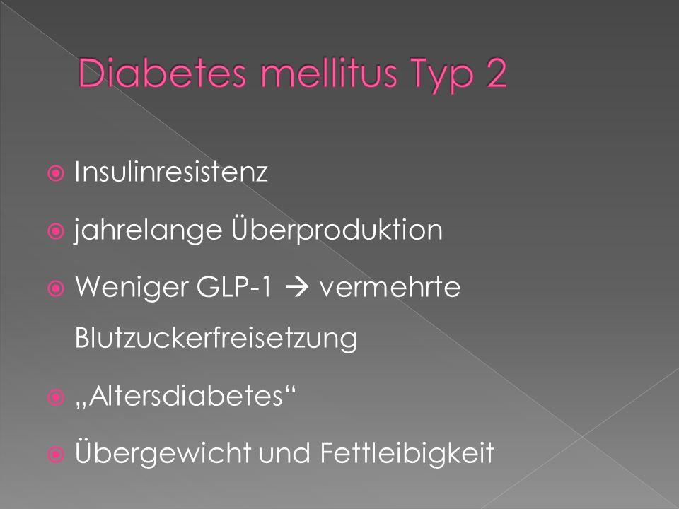  Gestationsdiabetes  Sekundärer Diabetes als Folge › Erkrankungen Bauchspeicheldrüse › Erkrankungen hormonproduzierender Drüsen › Langjährige Medikamenteneinnahme › Infektionen › Genetische Defekte