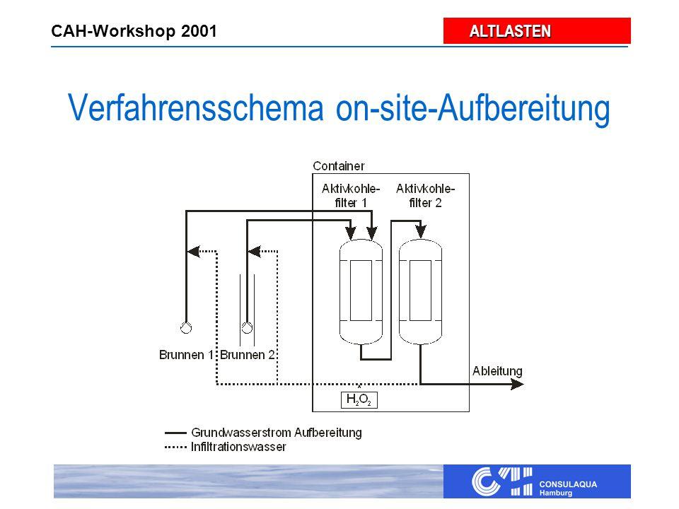 ALTLASTEN ALTLASTEN CAH-Workshop 2001 Verfahrensschema on-site-Aufbereitung