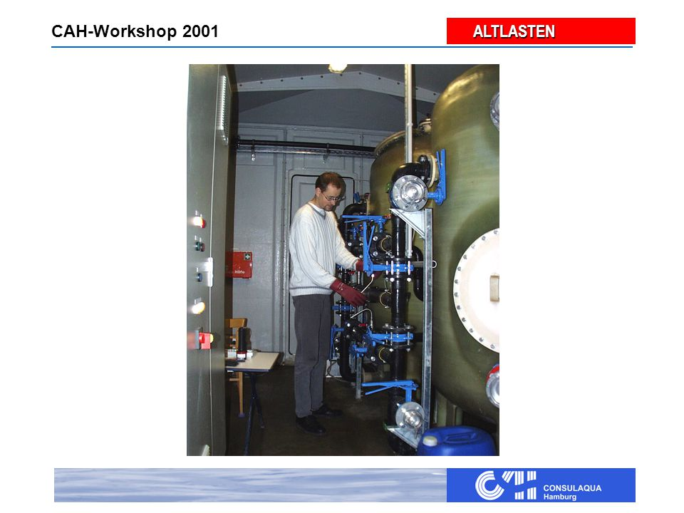 ALTLASTEN ALTLASTEN CAH-Workshop 2001