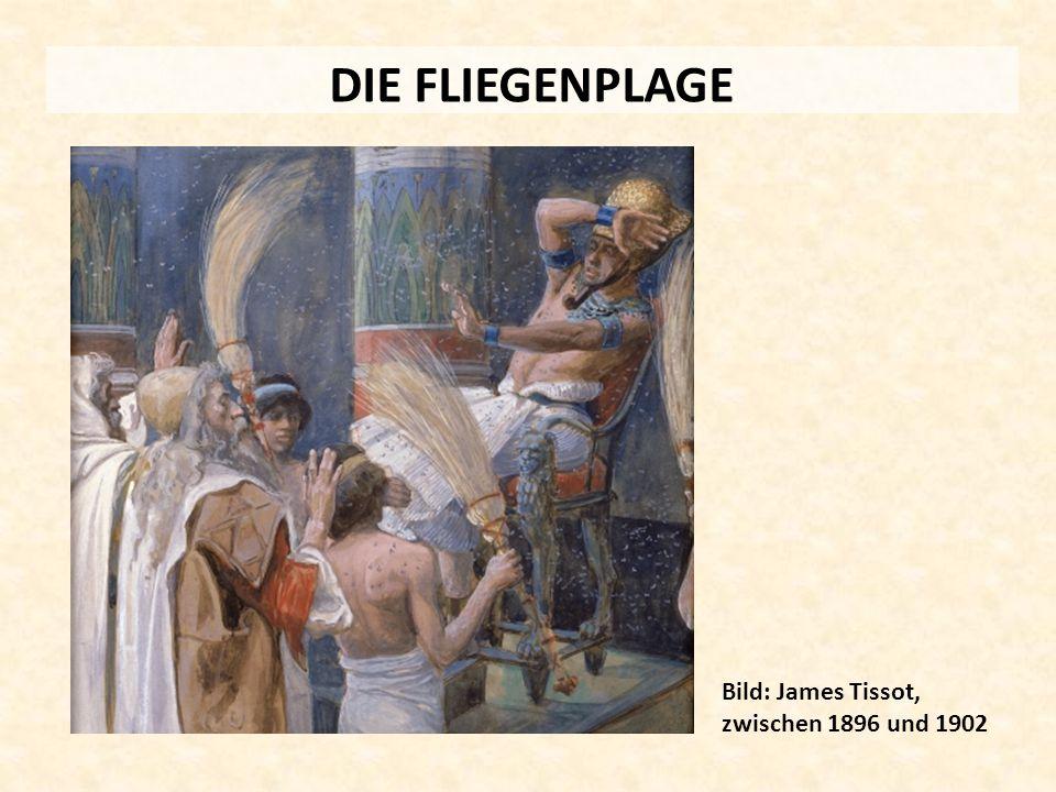 DIE FLIEGENPLAGE Bild: James Tissot, zwischen 1896 und 1902