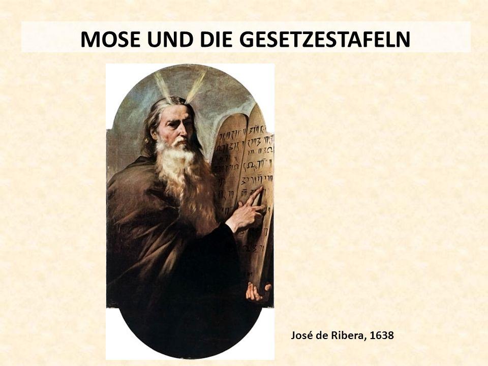MOSE UND DIE GESETZESTAFELN José de Ribera, 1638