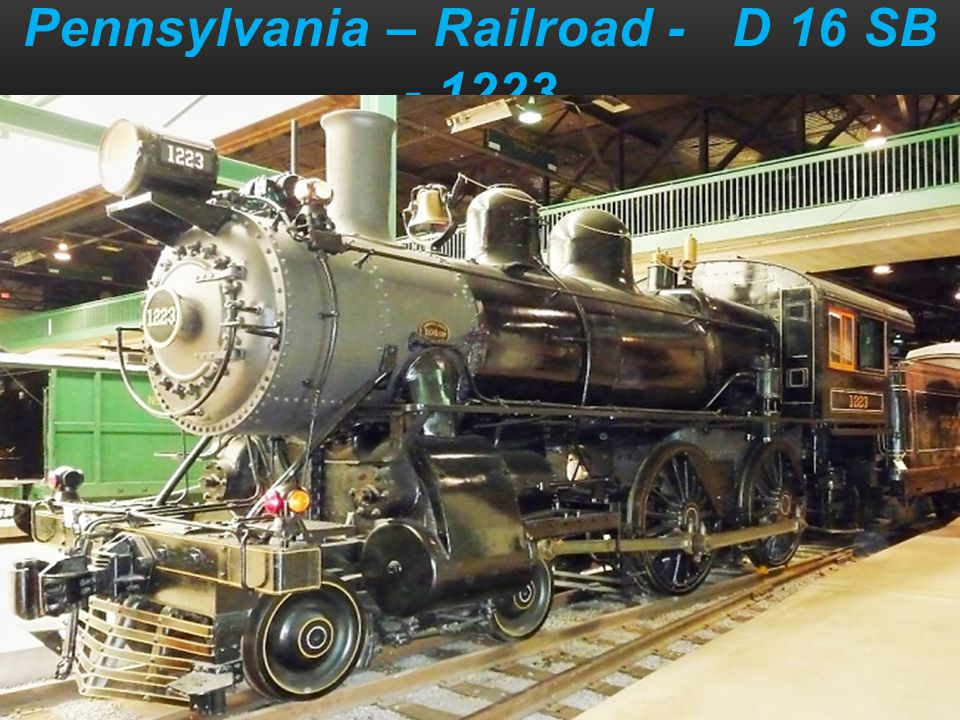 Pennsylvania – Railroad - D 16 SB - 1223