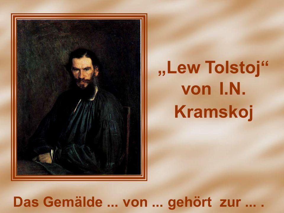 """Lew Tolstoj"" von I.N. Kramskoj"