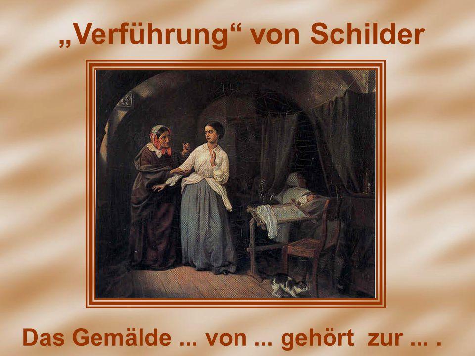 """""""Verführung"""" von Schilder Das Gemälde... von... gehört zur...."""