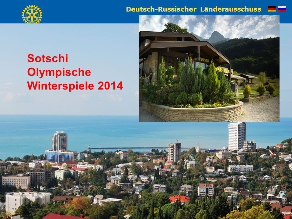 Deutsch-Russischer Länderausschuss Dr. Stephan Stein Sotschi Olympische Winterspiele 2014