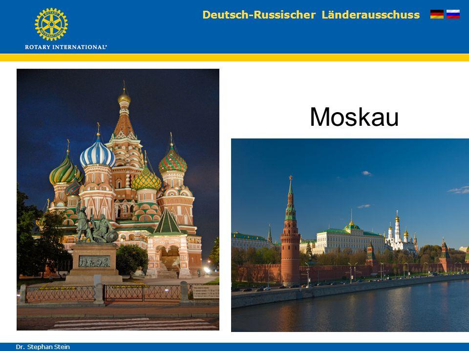 Deutsch-Russischer Länderausschuss Dr. Stephan Stein Moskau