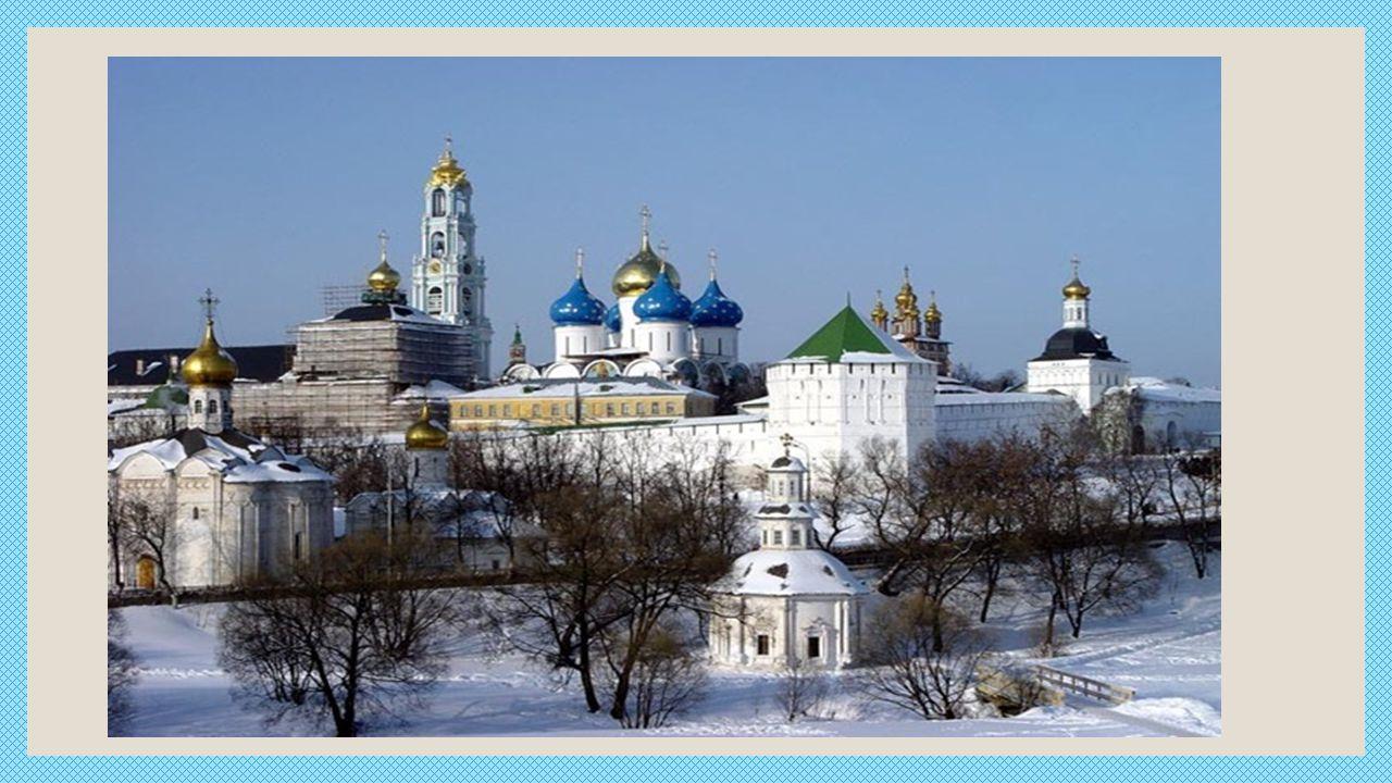 Beliebter Anziehungspunkt Kloster Sergijew Possad ist auch Tschernigow.