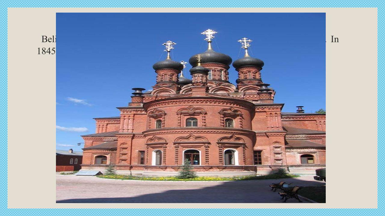 Beliebter Anziehungspunkt Kloster Sergijew Possad ist auch Tschernigow. In 1845-1850 gg gegründet. ein 3 - km südöstlich von Dreifaltigkeits-Sergius.