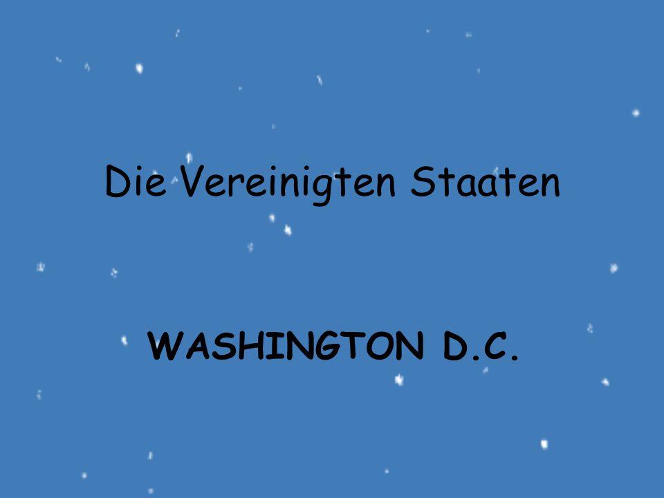 WASHINGTON D.C. Die Vereinigten Staaten