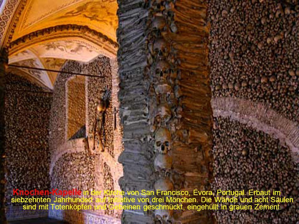 S.Quirino Kapelle, in 355 in einer Felswand in Luxemburg gebaut.