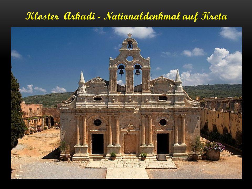 Kloster Arkadi - Nationaldenkmal auf Kreta