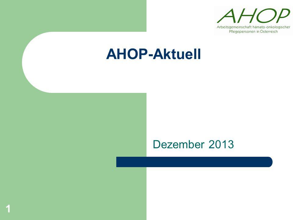 AHOP-Aktuell Dezember 2013 1